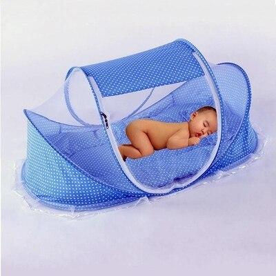 Free installation folding baby mosquito nets yurt baby crib mosquito nets hood cover