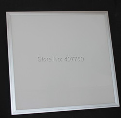 free ups shiping to colombia IP65 Waterproof 40w white frame 600x600mm  led panel light  23pcs/Lot