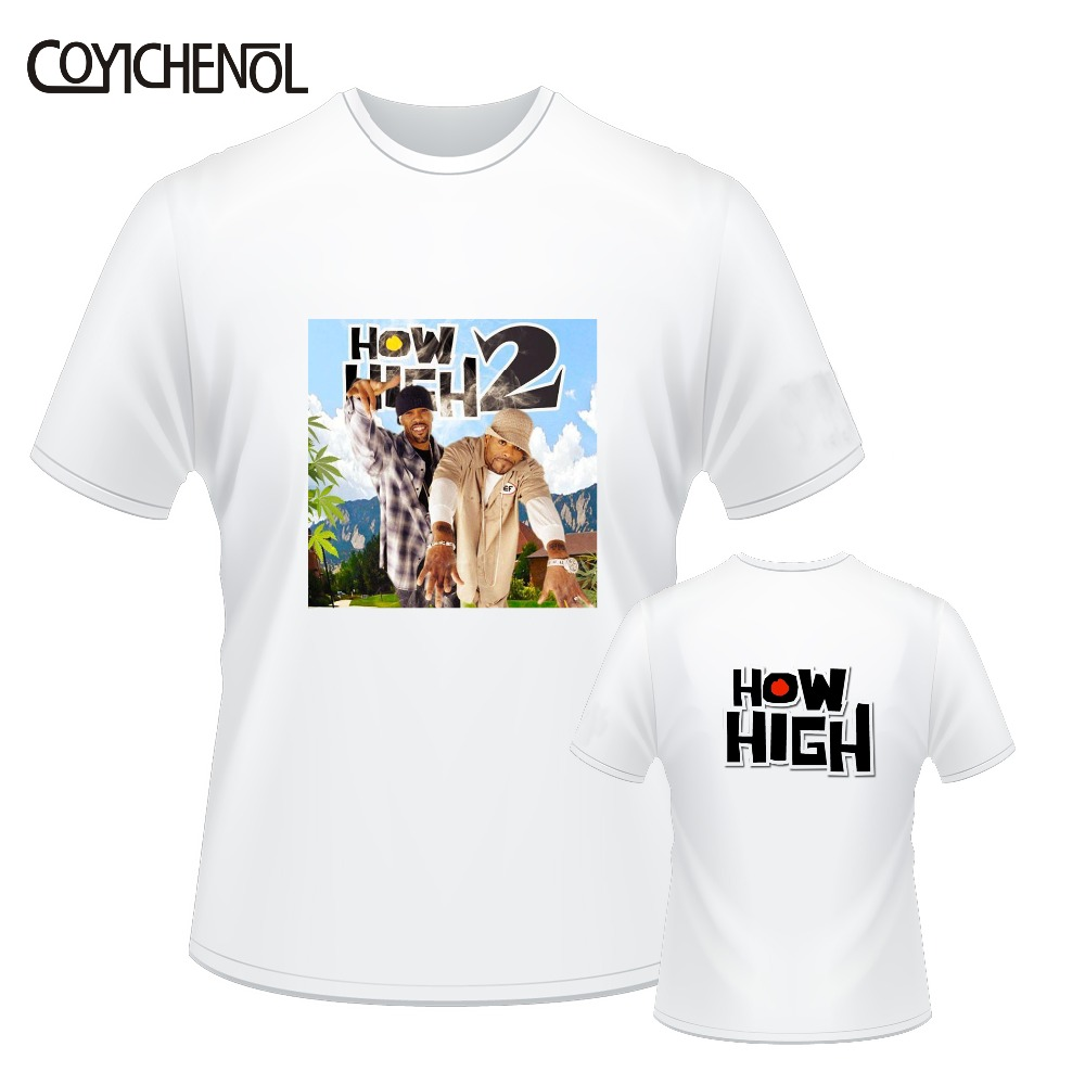 How High 2 customize print tshirt women solid color top hiphop casual modal tshirt lady slim top regular short sleeve o neck top in T Shirts from Women 39 s Clothing