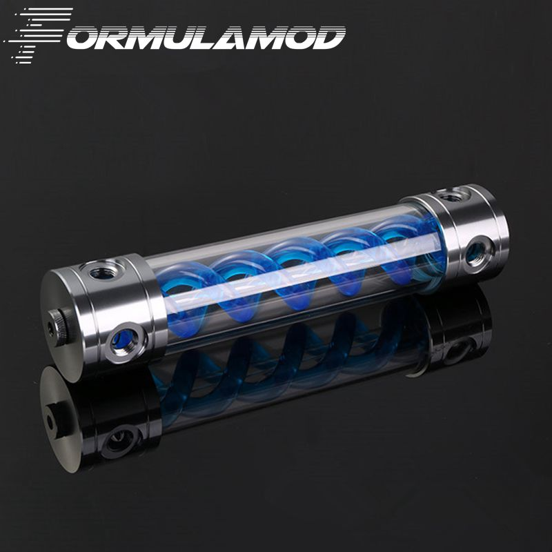 FormulaMod Aluminum  VIRUS T cylinder water reservoir water tank 260mm computer water cooling FM-VT-260GB airtac type ma25 175 s mini pneumatic cylinder double acting bore 25mm stroke 175mm with magnet mad macj msa mta customized