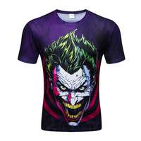 Mens 3D T Shirts Cool Summer O Neck Short Sleeve Fashion Marvel Anime Rck And Morty