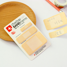 6 pcs/Lot Bandage sticky note Novelty band-aid memo pad Decorative diary stickers Stationery office School supplies FM432 стоимость