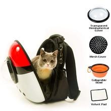 Space Capsule Pet Carrier Backpack Waterproof for Cat Small Dog TT-best коробка рыболовная flambeau waterproof tt 3 zerust