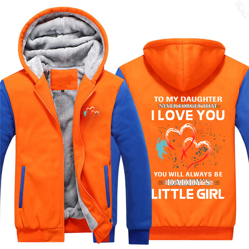 To My Daugter That I Love You Men's Fleece hoodies