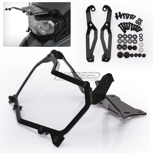 Image 5 - Black Motorcycle Headlight Protection Net Headlight Protection Quick Release Headlight Cover For BMW F850GS F750GS