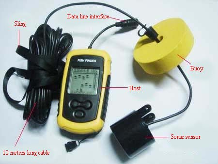 wholesale wired fish finder+fish finder+portable fish finder+, Fish Finder