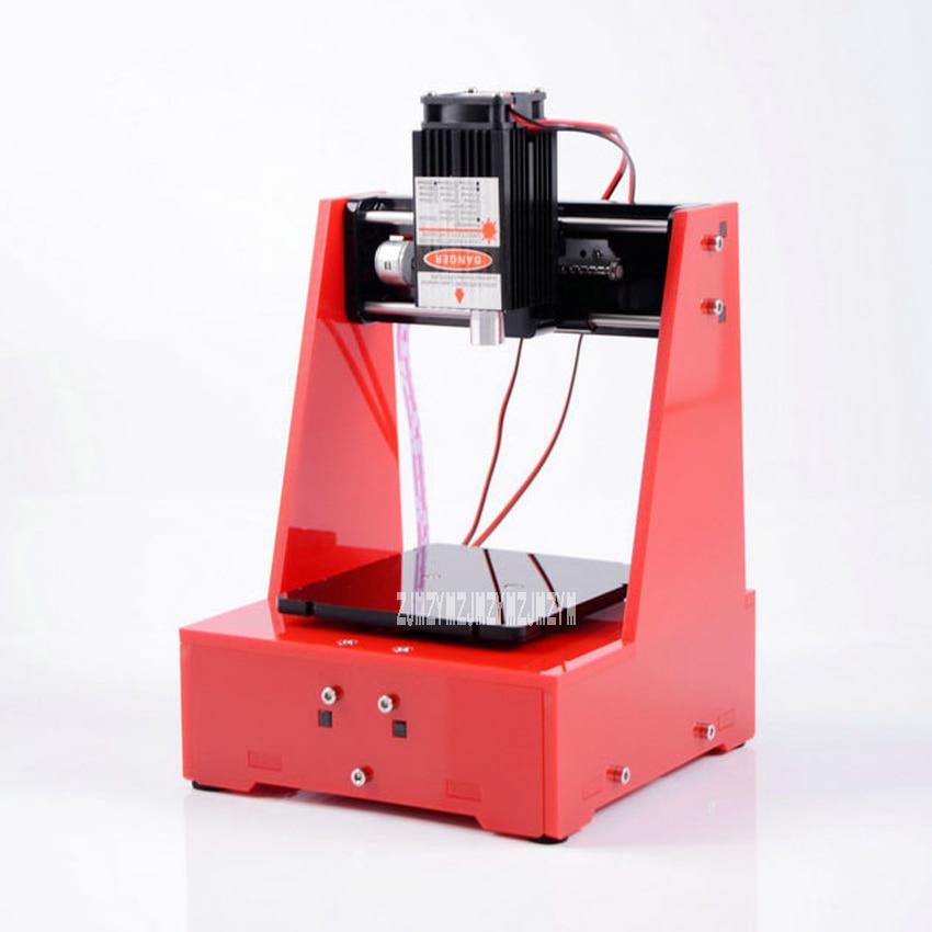 Новое поступление Настольный лазерный гравировальный станок Diy маленькая лазерная резка, гравировальный станок 5 в 1600 мВт 0,075 мм 70*70 мм хит п