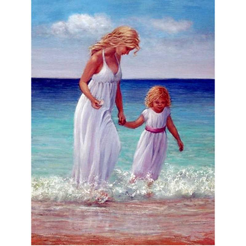 Открытки красотки мама и дочка