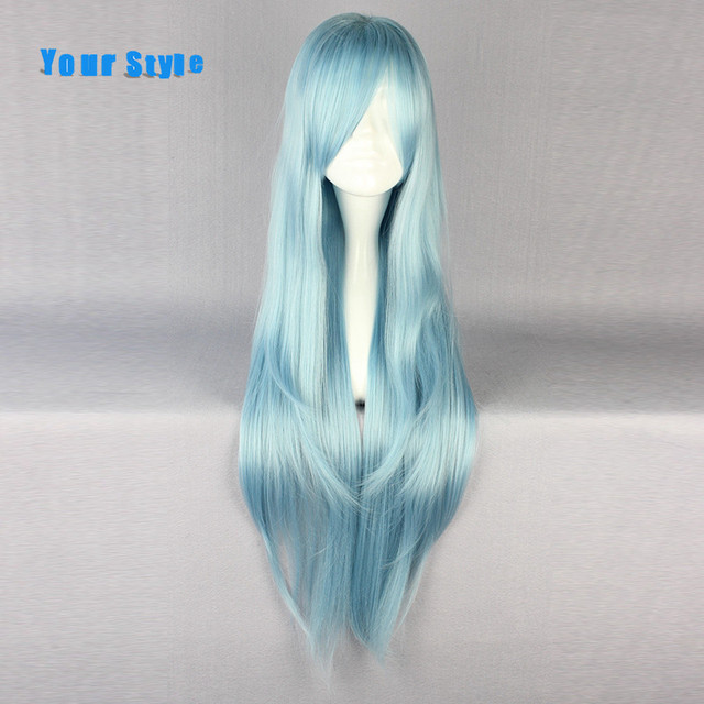 Light Blue Cosplay Wig