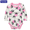 Hot Sale 2Pcs/lot Baby Romper Short Sleeve Cotton Baby Boy Girl Clothes Baby Wear Jumpsuits Clothing Set Body Suits YY0713