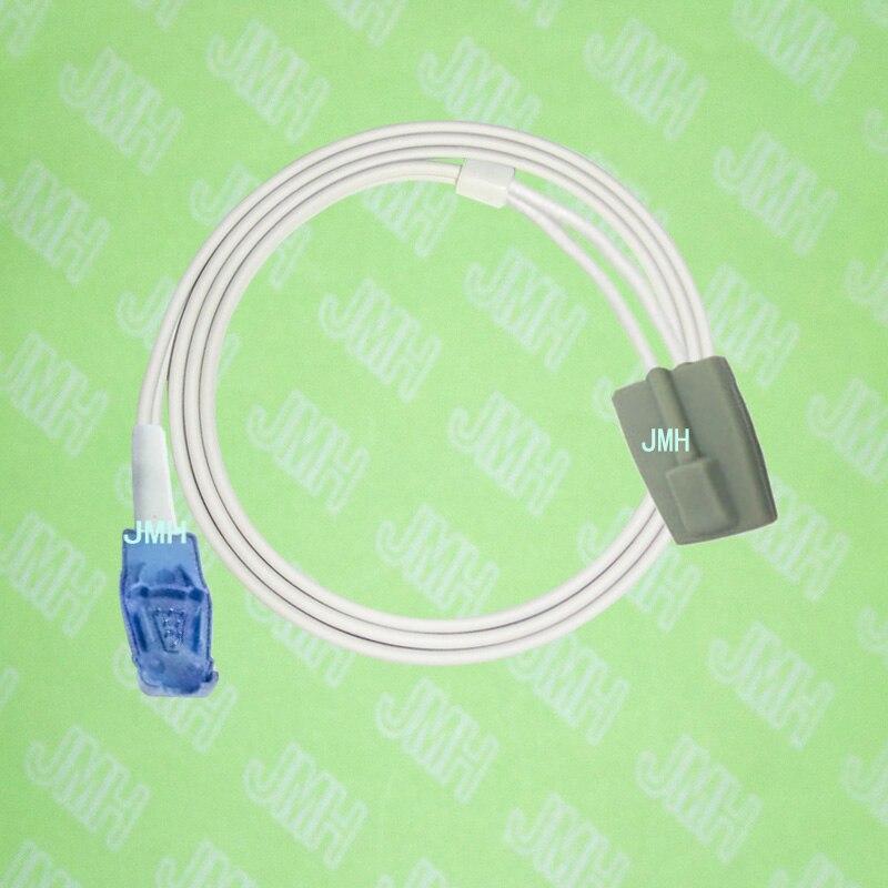 Compatible with Datex-Ohneda Pulse Oximeter monitor, Pediatric silicone soft tip spo2 sensor,1M,8PIN.Compatible with Datex-Ohneda Pulse Oximeter monitor, Pediatric silicone soft tip spo2 sensor,1M,8PIN.