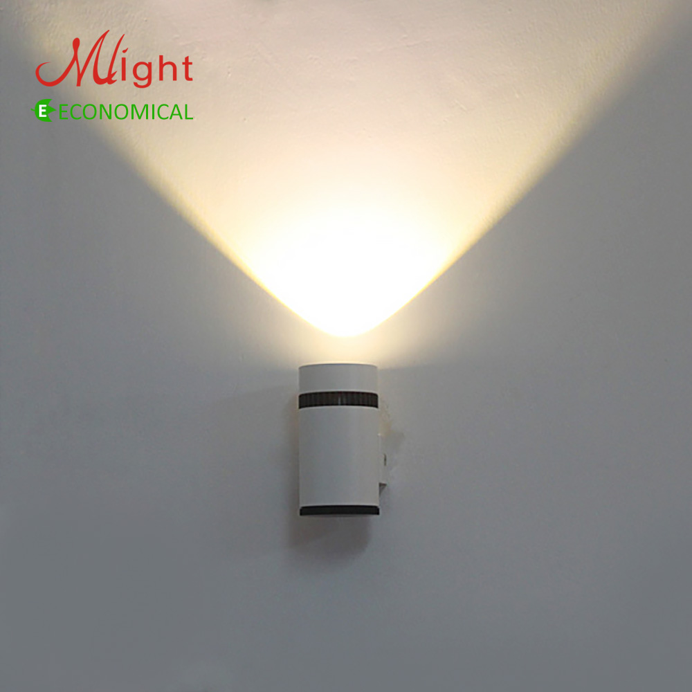 Modern Led Wall Lamp With Cylindrical Shape High Quality 3w