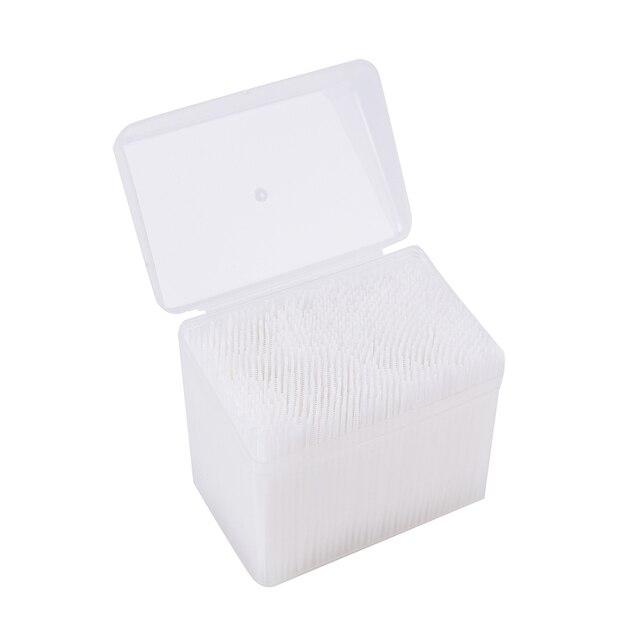 1100 sztuk/pudło nić dentystyczna szczotka do zębów wykałaczki zęby higiena jamy ustnej do czyszczenia kij Flosser wykałaczka szczoteczka międzyzębowa 6.5cm