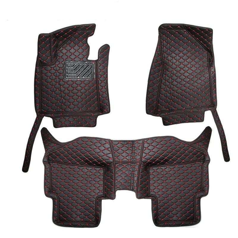 Для LHD KIA Sportage QL 4th 2017 2016 автомобильные коврики кожаный чехол автомобиль-Стайлинг Подкладке Пользовательские кожаный коврик авто аксессуары