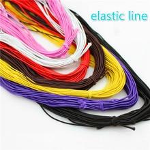 лучшая цена 10 m core elastic string, rubber string, string beads, beads line, hand DIY accessories, bracelet,  hand string 8MM