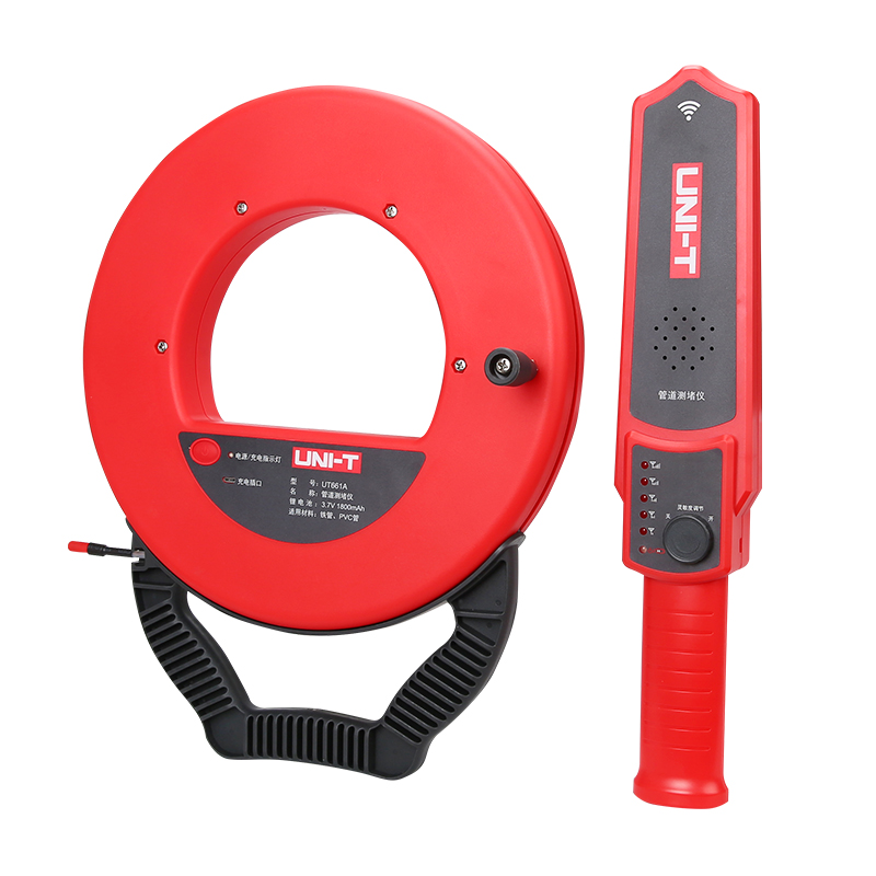 UNI-T UT661A UT661B Wall Pipe Blockage Detector Diagnostic-tool Wall Scanner Pipeline Blocking Clogging Scanner Plumbers Instrum quiksilver men s blockage t shirt