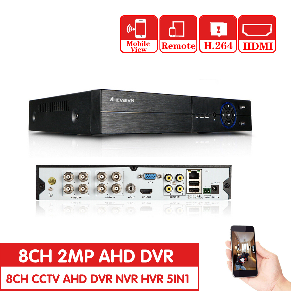 HD CCTV 1080P DVR 8ch AHD 1080P surveillance DVR NVR 8 channel AHD-NH 1080P HDMI security standalone 3G WIFI DVR video recorder billy budd sailor and other stories