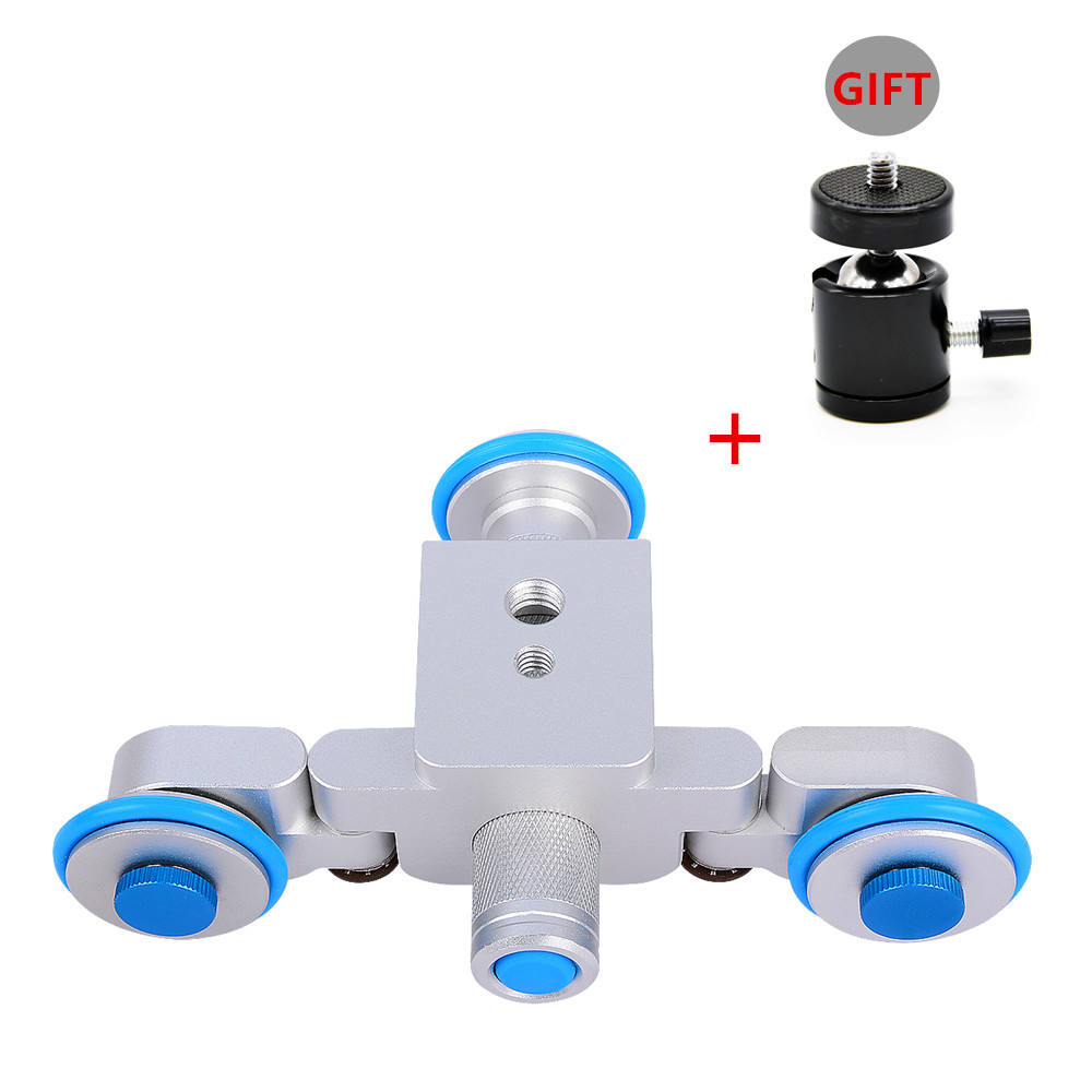 Photography Smart Car Track Slider Skater Motorized Electric Video Camer Dolly Autodolly for Canon Nikon Sony for iPhone Samsung kingjoy ppl 06 motorized electric 3 wheel video pulley car track dolly rolling slider skater for cannon nikon sony for iphone