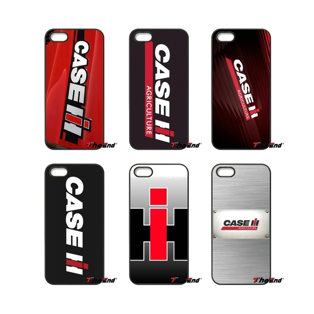 CASE IH Tractor's logo fashion Hard Phone Case For iPhone X 4S 5 ...