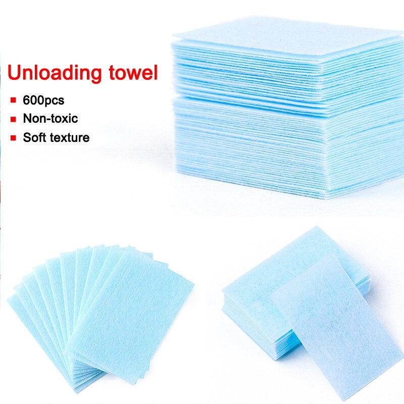 600 Pcs Environmental No Chipping Disposable Unloading Nail Clean Cotton Nail Polish Remover @ME88