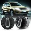Brand New OEM Chrome Headlight Switch Contorl w/ Auto  for VW Golf / Jetta MK5 MK6 / Eos 2008-2011 VW Scirocco ME3L