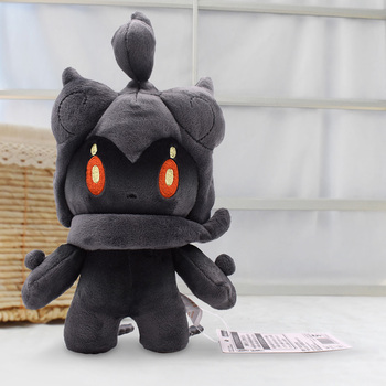 цена 2020 Free Shipping Marshadow Plush Dolls 22cm Peluche Toys Cartoon Stuffed Animals Toys Soft Christmas Toys Best Gift онлайн в 2017 году