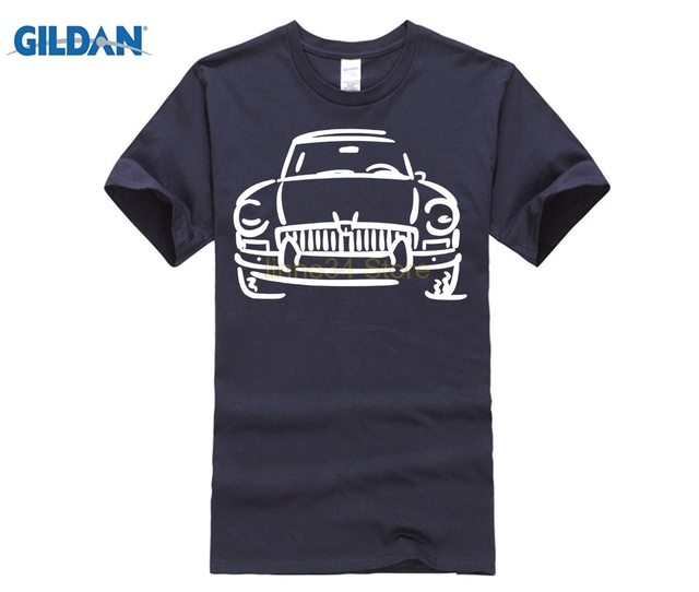 GILDAN GILDAN Casual Short Sleeve Tshirt Novelty Mgb Gt Mg British English Roadster Sportscar T-shirt