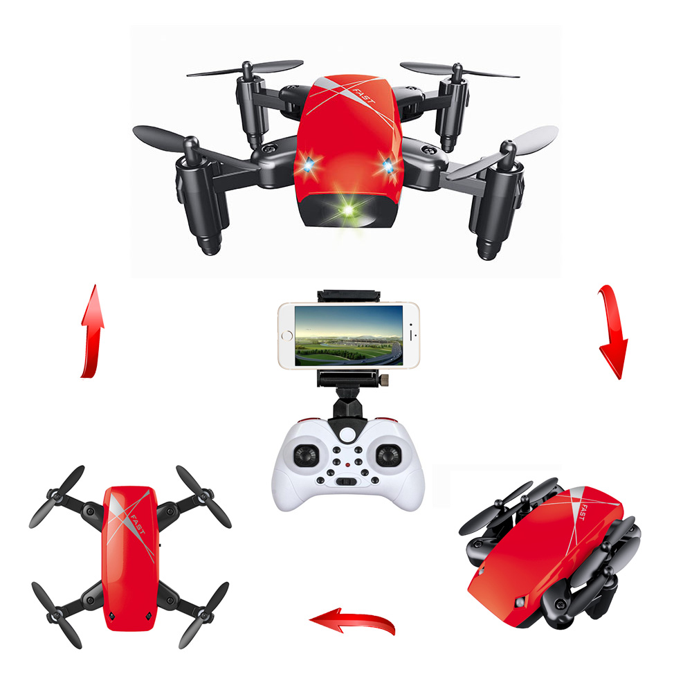 S9HW Mini Drone With Camera S9 No Foldable RC Helicopter Altitude Hold  Quadcopter WiFi FPV Micro Pocket Dron Boy Toys PK KK8