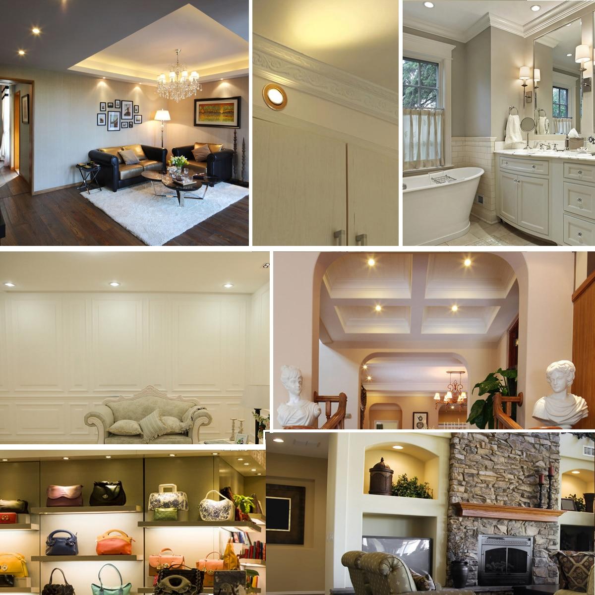 1 Stück Home LED Cob Epistar Einbau Downlight dimmbar 5W / 10W LED - Innenbeleuchtung - Foto 6