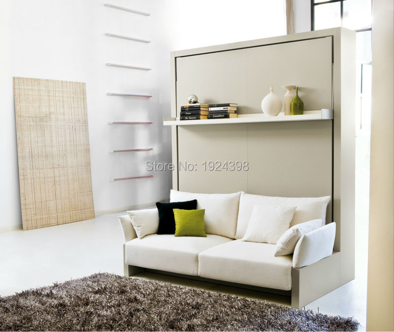high quality folding wall bedhidden wall bed murphy bed with sofaspace saving furniture cheap space saving furniture