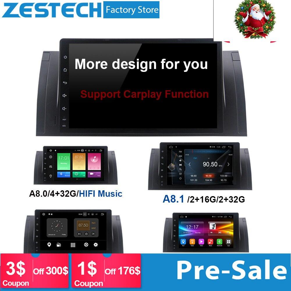 ZESTECH 1 Дин Радио dvd мультимедийный плеер для BMW E39 android X5 E53 поддержка bmw carplay Авторадио Стерео автомобильный gps головного устройства