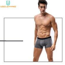 Caleçon de marque Calvin pour homme, sous-vêtement doux, caleçon Modal, sous-vêtement Sexy 3D U