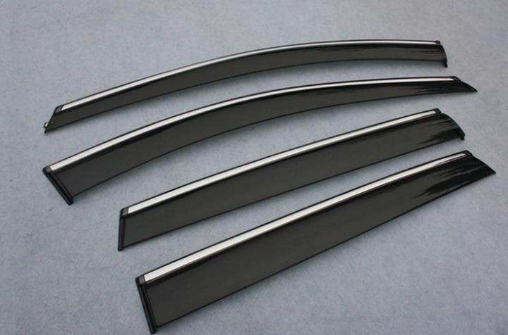 Для Benz ML350 320 W164 ML-Class 2010 2011 2012 2013 оконный ветровой Дефлектор козырек Дождь/Защита от солнца вентиляционное отверстие
