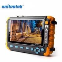 5 Inch TFT LCD 1080P 4 IN 1 TVI AHD CVI Analog CCTV Tester Security Camera