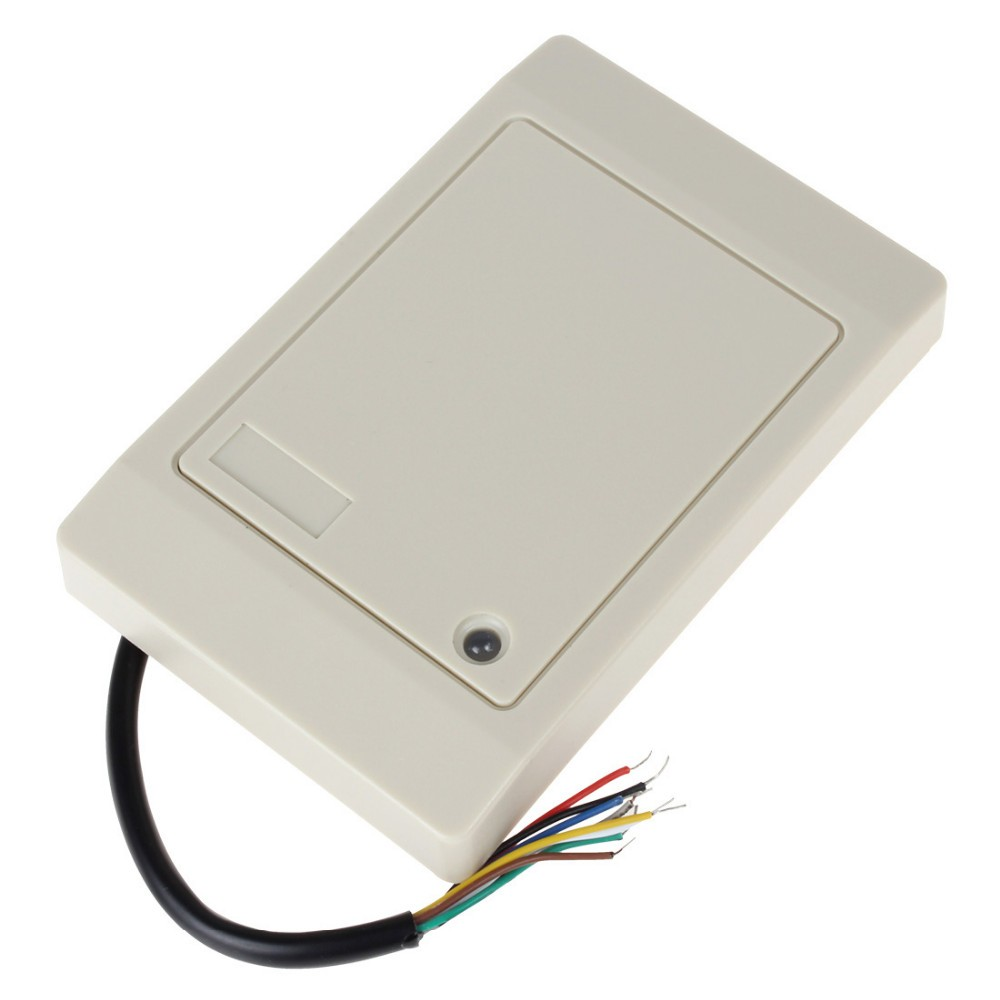 Free shipping  Dual Sensor125KHZ &13.56MHz two frequency RFID & IC card reader with RS232 output upgrade parts hanging battery haeundae and extended mounting plate