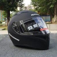 Winter Motorcycle Helmet Double Visors Full Face Moto Helmets Cool Men Riding Casco Racing Motorbike Filp