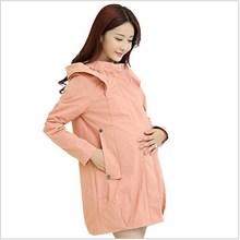 S 4XL 2015 Autumn Winter Maternity Coats Clothing Windbreaker Pregnancy For Pregnant Women Trnch Wear Outerwear