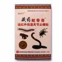 80 pcs/lot plâtres crème anti-douleur Patch chinois articulations analgésique cou dos Muscle thérapie médicale traitement onguent à base de plantes