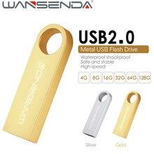 WANSENDA S409 customized USB Flash Drive 64GB 32GB pen drive 16gb 8gb 4gb usb 2 0