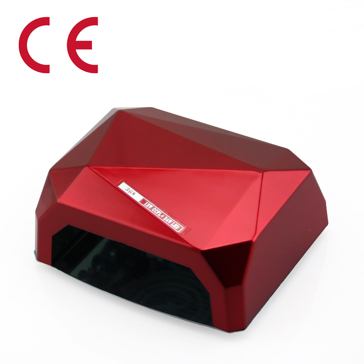 Fashion 36W LED CCFL UV Light Nail Gel Polish Lamp Diamond Shaped Best Curing Dryer Art Tools Manicure - Sophia Liu store