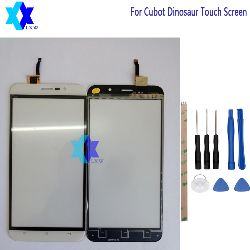 For Cubot Dinosaur Touch Screen Glass Original Guarantee Original New Glass Panel Touch Screen 5.5 inch Tools+Adhesive Stock