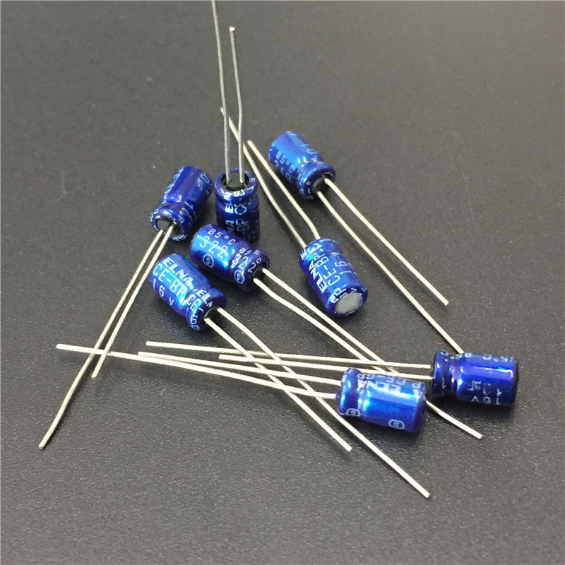 10pcs 10uF 16V ELNA CE-BP 4x7mm 16V10uF Bipolar Audio Capacitor
