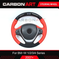 LED steering wheel for BMW 1 2 3 4 series E87 F20 F22 F34 E90 E92 E93 F30 speed display 4 series carbon fiber interior trim