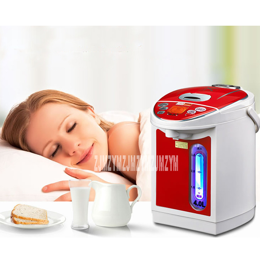 electric kettle thermoelectric water bottle 5l household 304 stainless steel automatic thermal insulation electric kett AHP-402 electric water bottle 304 stainless steel household insulation 4L electric kettle 220V 750W