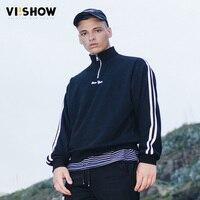 Classical Men SweatshirtS Hoodies Men Tops Fashion Men Tops VIISHOW Brand Clothing Streetwear Moletom Black Plus