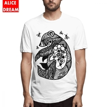 For Men Tribal Honey Bear Illustration Tee Shirt Rock And Roll Camiseta Round Neck Free Shipping