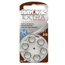 Cheap 60pcs/5card Zinc Air 312/A312/PR41 Battery for CIC digital siemens Hearing aid aids .Rayovac Extra Hearing Aid Batteries.