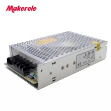 Cerrado fuente de alimentación conmutada S-50-5/12/24/48 ac/dc fuente de alimentación del interruptor de 5 V 10A 50 w S-50-5
