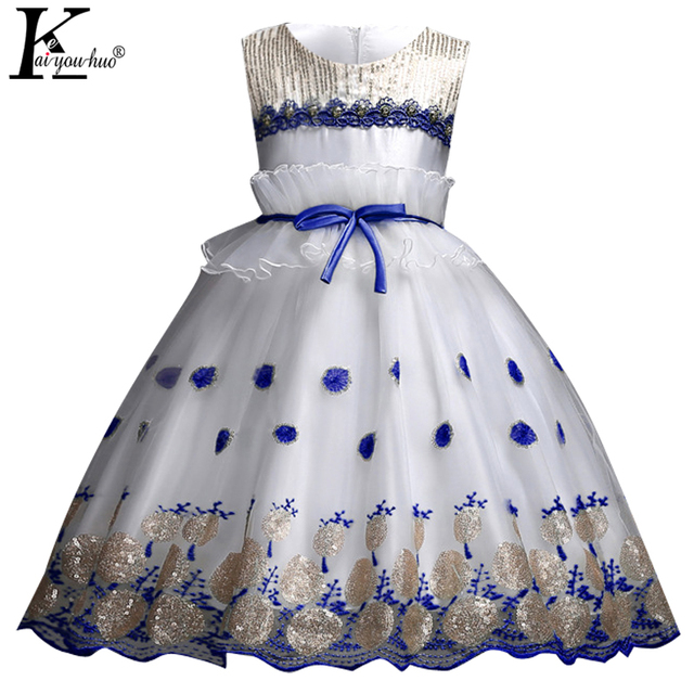 dd2a8d4ae87c Girls Dress Summer Kids Dresses For Girls Clothes Party Princess ...