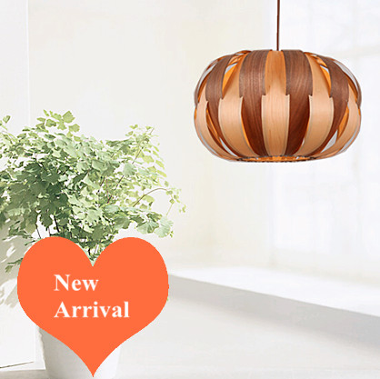 Modern traditional retro Ply-Wood chips art Chandelier Handmade E27 LED lamp indoor lamp for stairs&porch&living room BT299